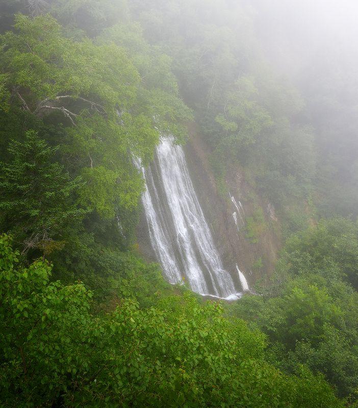 сахалин, клоковский водопад Сахалин. Клоковский водопадphoto preview