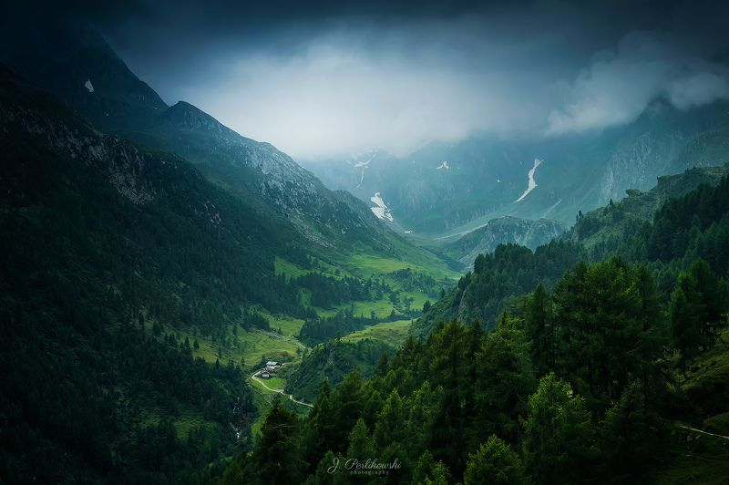 alps, rainy day, mountainside Rainy day in the Alpsphoto preview