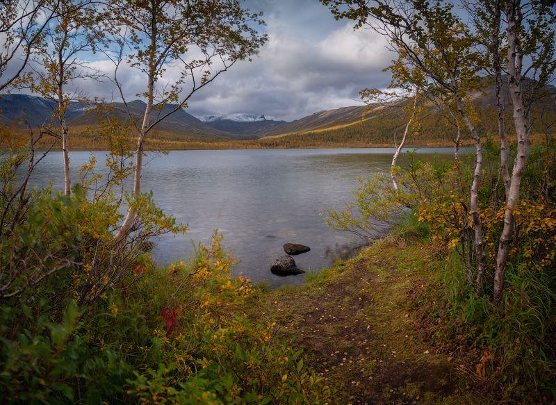 пейзаж,хибины,кольский,север,горы Кольская осеньphoto preview