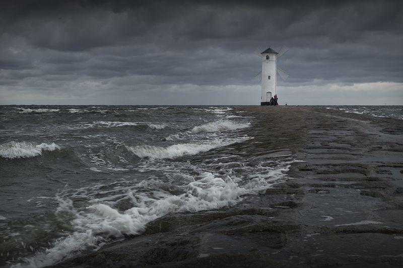 A storm in the Baltic Seaphoto preview