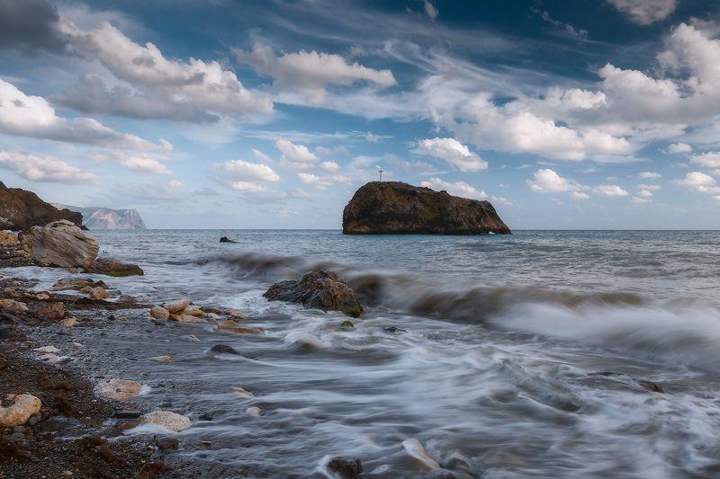 севастополь, фиолент, море, небо. После шторма.photo preview