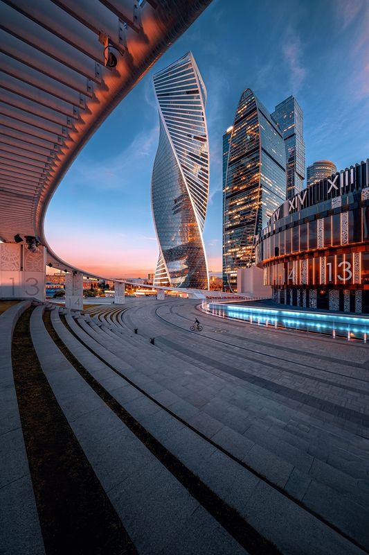 архитектура, москва, город, street, moscow, architecture, москва сити Геометрия городаphoto preview
