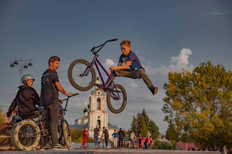 калуга, велосипед, история Очень хочется летатьphoto preview