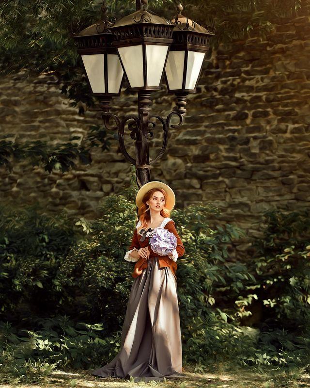 Девушка в шляпе Девушка в шляпеphoto preview