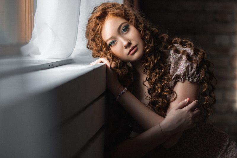 девушка, модель, портрет, фотосессия, студия, макияж, гламур, girl, model, modeling, young, portrait, make-up, творческий портрет, женский портрет, woman, young woman, glamour, постановка, постановочная фотография, fashion Ангелинаphoto preview