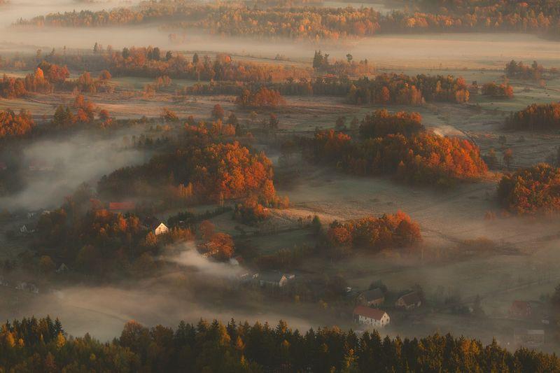 landscape,autumn,mountains,canon The Calm of Misty Dawn... фото превью