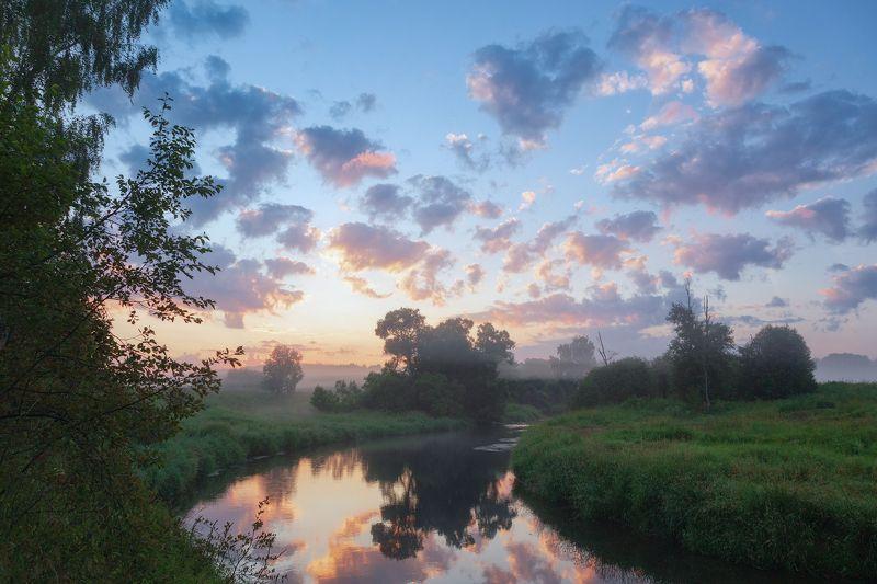 утро, подмосковье, истра, река Утроphoto preview