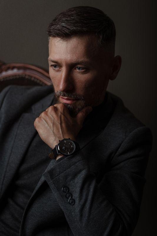 мужской портрет, man\'s portrait, студийный портрет, студия, бизнес портрет, sigma photo preview