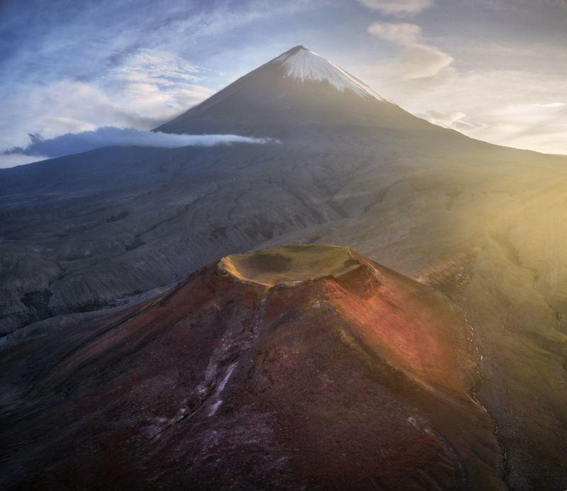 камчатка Кратеры вулкана Ключевская сопка.photo preview