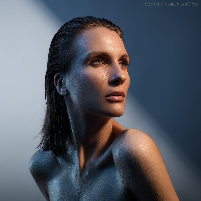 портрет, девушка, студия, обучения, световая схема color duetphoto preview