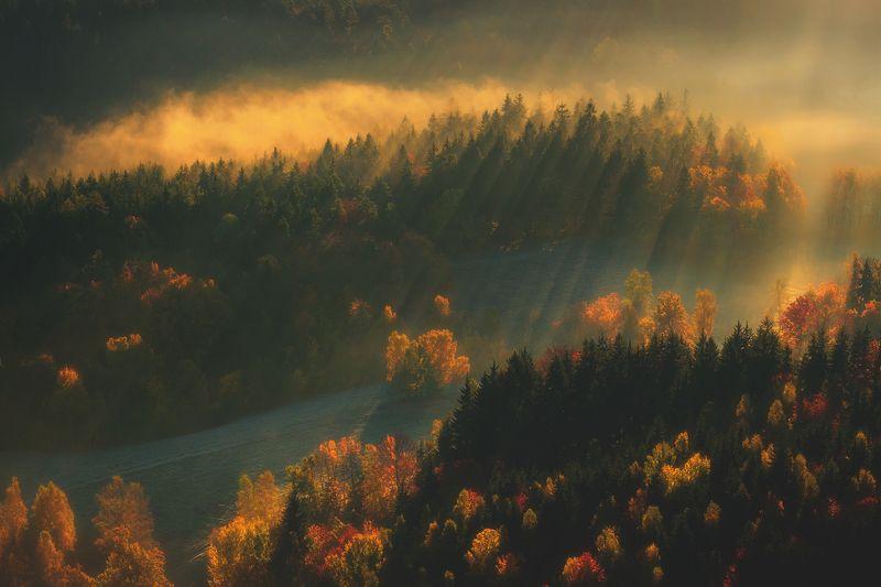 landscape,autumn,mountains,canon Beyond The Time... фото превью
