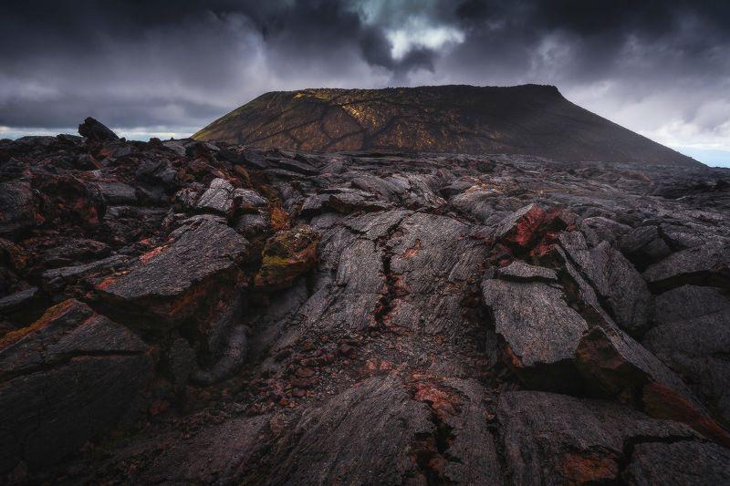 камчатка, лава На лавовых поляхphoto preview