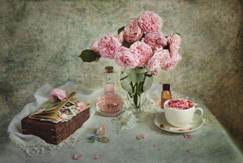 натюрморт, цветы, винтаж, шебби Розы photo preview