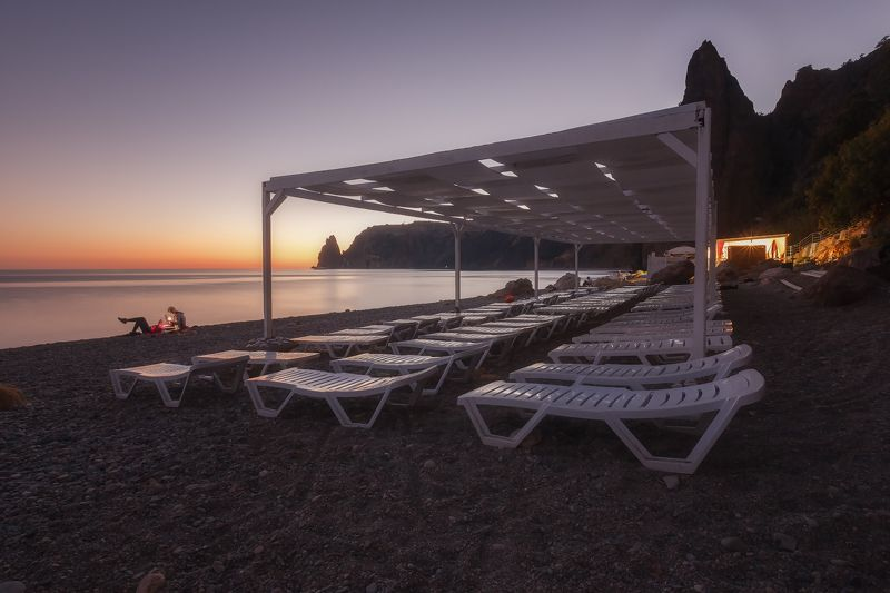 севастополь, фиолент, море, небо. Лето где-то...сентябрь на Яшмовом пляже Фиолента.photo preview