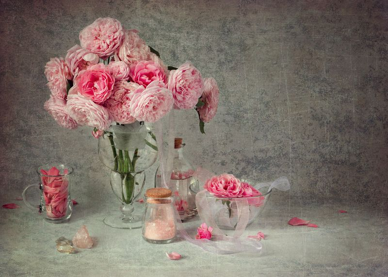 натюрморт, розы, цветы, винтаж, шебби Розы в вазеphoto preview