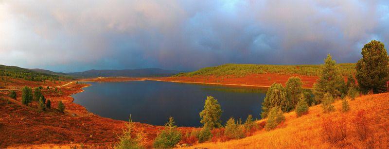 Озеро перед рассветомphoto preview