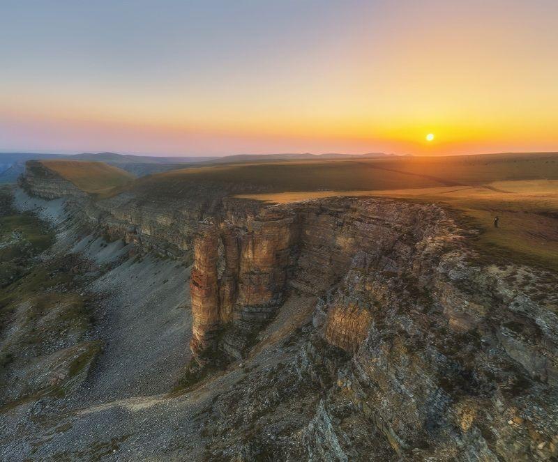 карачаево-черкесия, северный кавказ, бермамыт, рассвет, август Рассвет на Бермамыте.photo preview