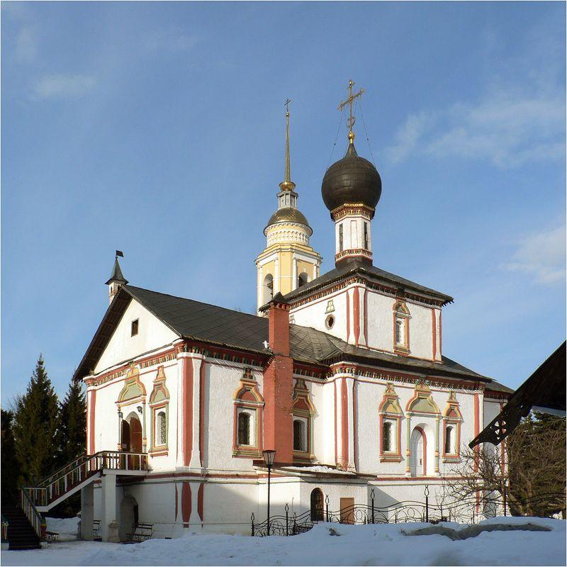 коломна Троицкий собор Ново-Голутвина монастыряphoto preview