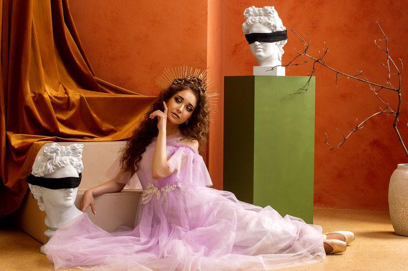 Ballet, Greec myphs, goddes, woman portrait, portrait, beauty, single person The Greek Nymphphoto preview