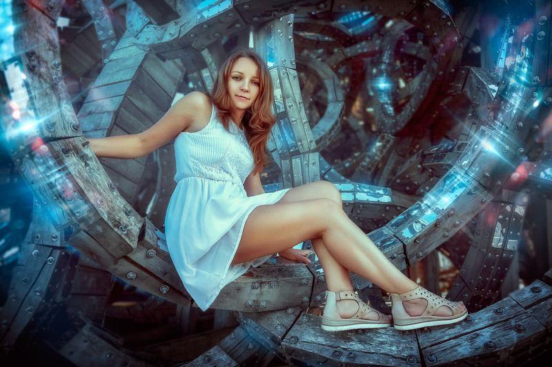 infinity, wheel, sci-fi Infinityphoto preview