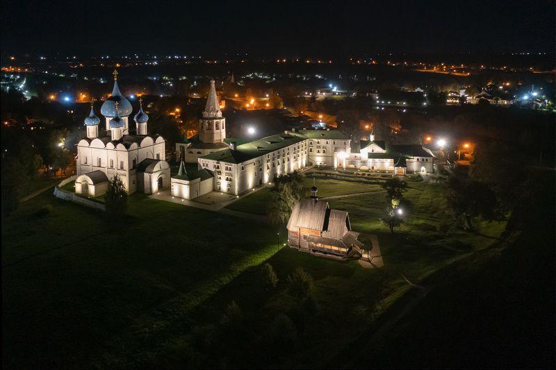 суздаль,ночь,кремль Огни ночного Суздаляphoto preview