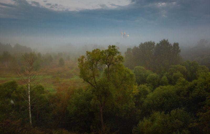 туман, храм, утро, подмосковье, истра Всегда разный, всегда непредсказуемый, но всегда  прекрасный.photo preview