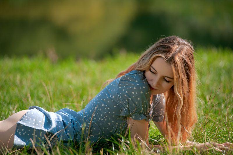лето, девушка photo preview