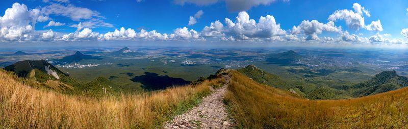 бештау,кмв,горы,панорама,пейзаж,сентябрь,вершина Теплый сентябрьphoto preview