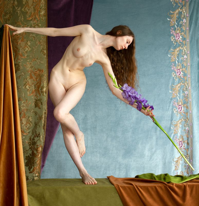 fine, art, nudes Late summer\'s dancephoto preview