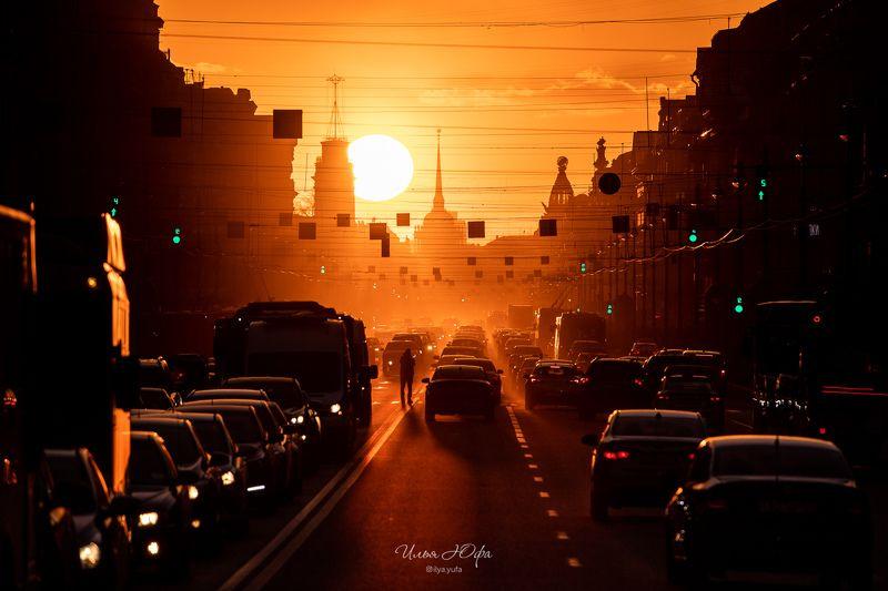 закат, Невский, Санкт-Петербург, город, улица Закатные историиphoto preview