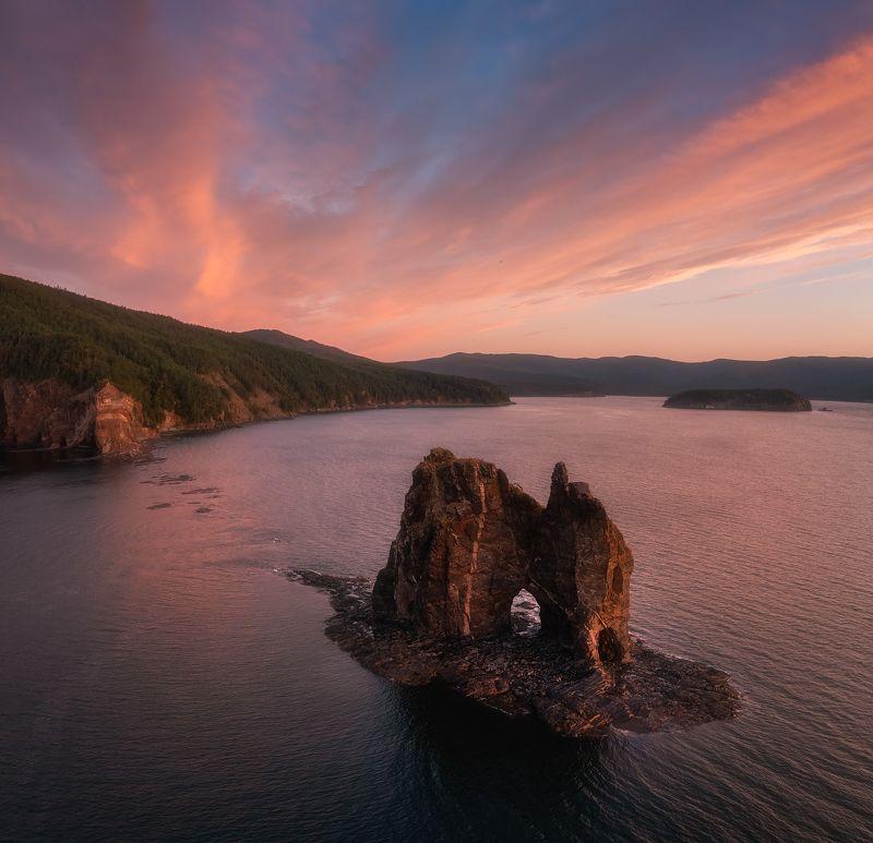 шантары,утро,рассвет,пейзаж,остров феклистова Шантарский рассвет...photo preview