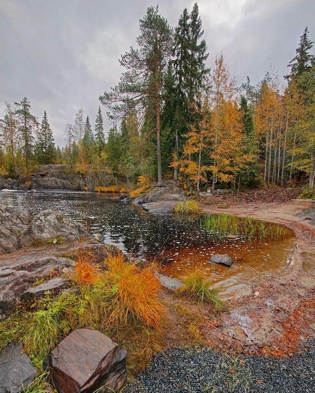 Осенняя Тохма фото превью