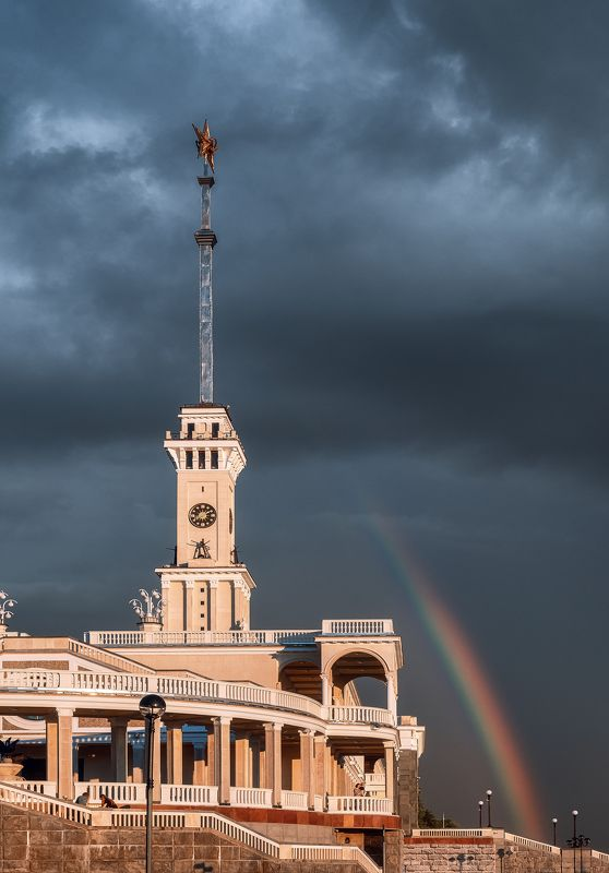 architecture, москва, радуга, речной вокзал, moscow,  Радуга на Речном вокзалеphoto preview