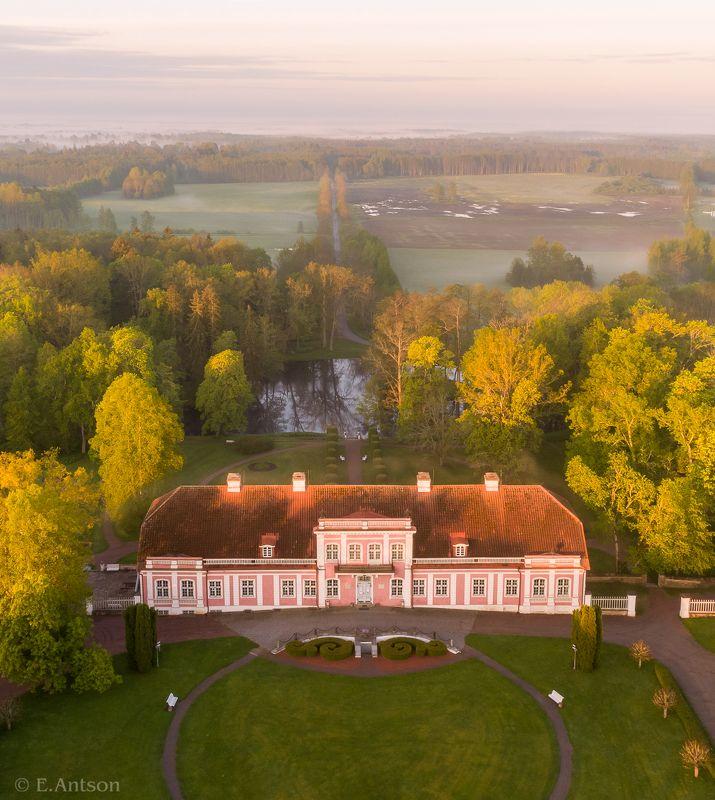эстония, пейзаж, усадьба Настроение майского утра фото превью