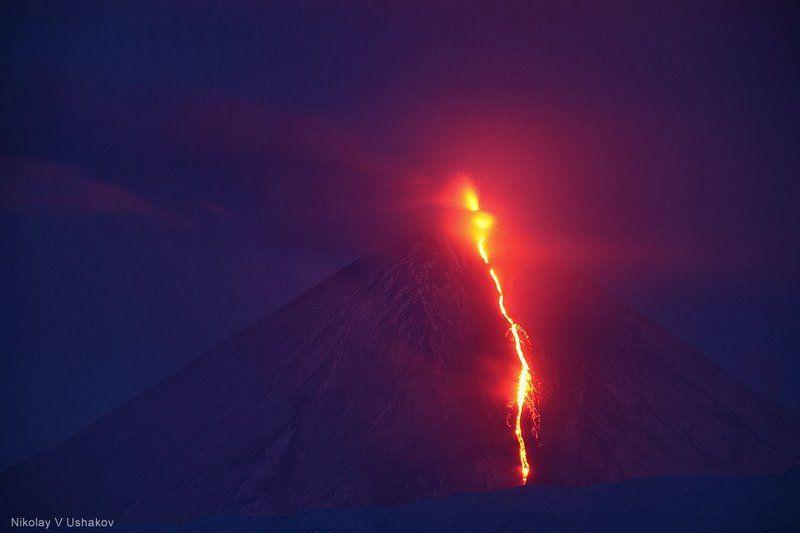 Извержение Ключевского (2008)photo preview