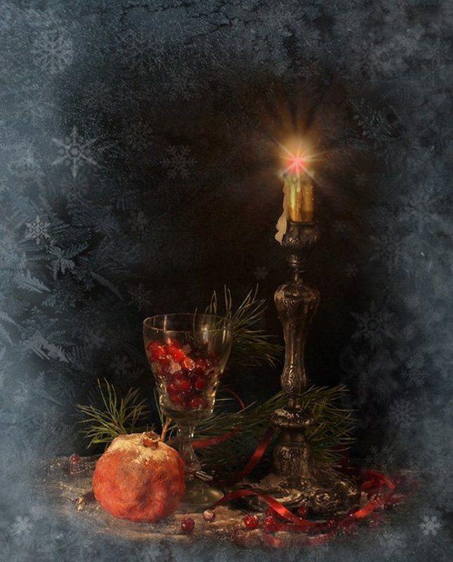 натюрморт, новый год, Новогодняя ночьphoto preview