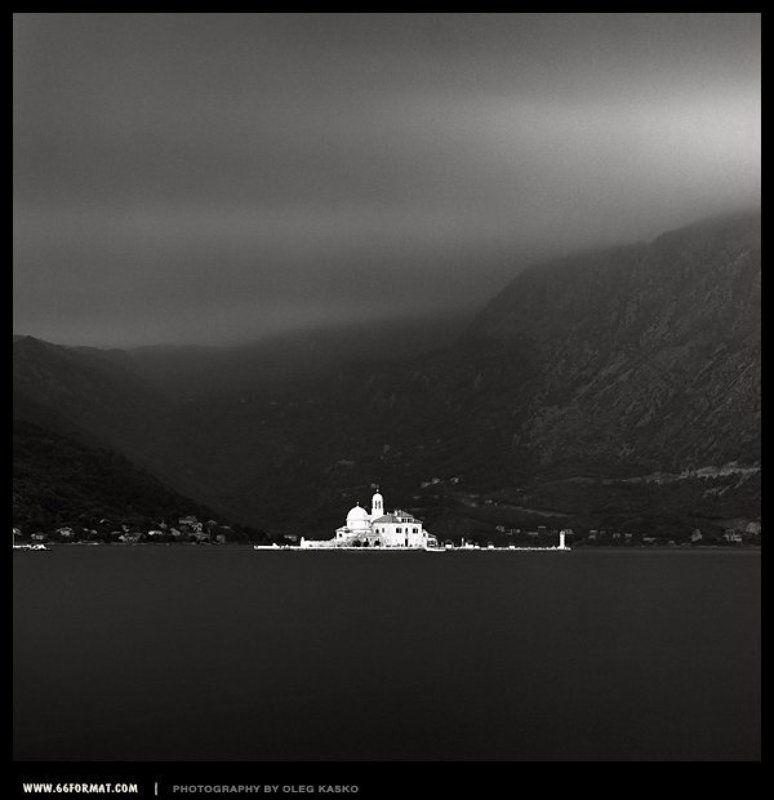 travel, hasselblad, montenegro, bw, black and white, пленка, средний формат, черногория, храм богородицы на рифе, 6x6, чб Храм Богородицы на рифе.photo preview
