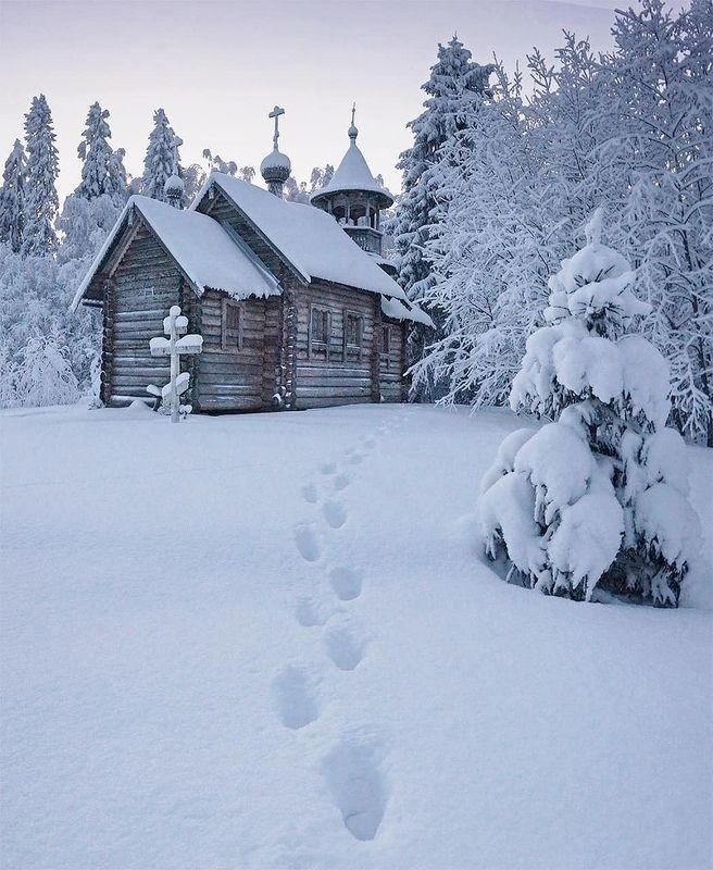 Спрятанная церковь фото превью