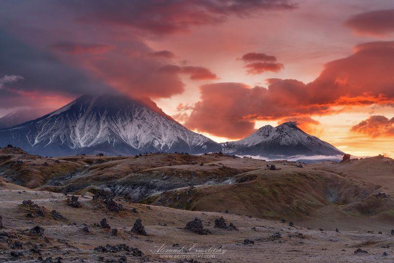 камчатка, kamchatka ~ Огненные великаны ~photo preview