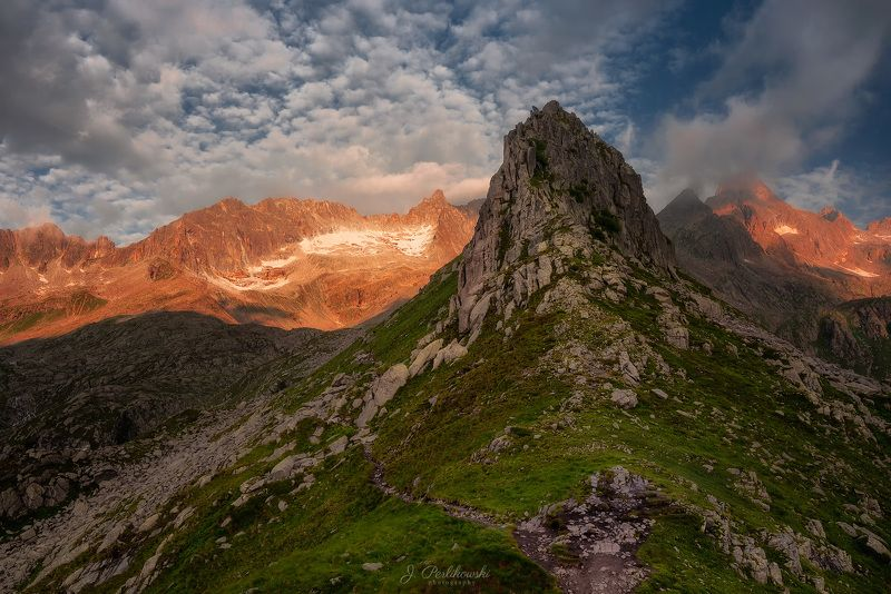 alps, travel, mountains Morning in the Alpsphoto preview
