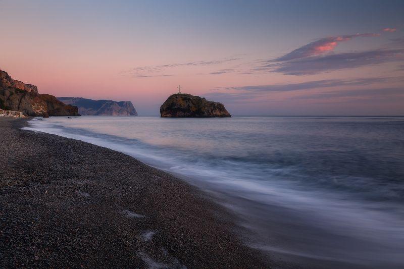 севастополь, фиолент, море, небо. Яшмовый пляж в сентябре.photo preview