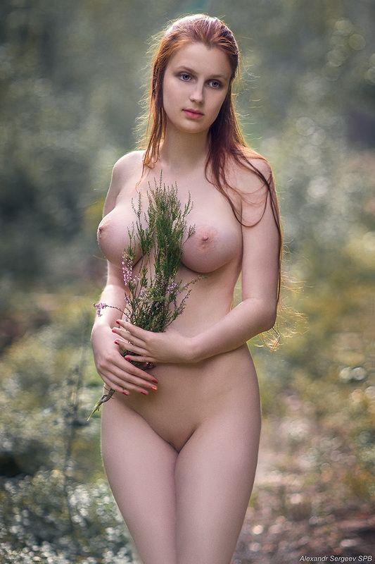 девушка,обнажённая,красота,нежность,гармония,настроение,грация Подражая Боттичеллиphoto preview