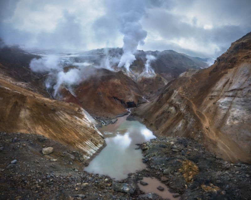 камчатка Мутновский вулкан. Новый ландшафт.photo preview