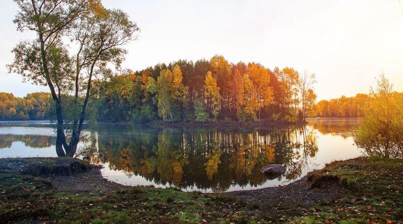 кузбасс, осень, природа, красота, вода, карьеры, новокузнецк photo preview