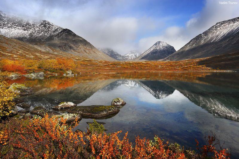 кольский, север, заполярье, хибины, тахтаръявр Осенний Тахтаръяврphoto preview