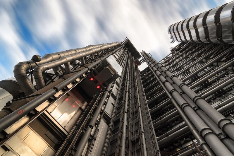 london, building, city, pipe, elevator, architecture, long, time, september Lloyd\'s building Londonphoto preview
