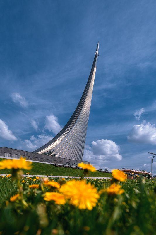 москва, сирень, вднх, музей, moscow, Музей космонавтикиphoto preview