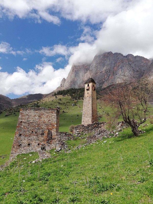 Ингушетия, Кавказ, Карт, Цей-Лоам, Боевая башня Стражи горphoto preview