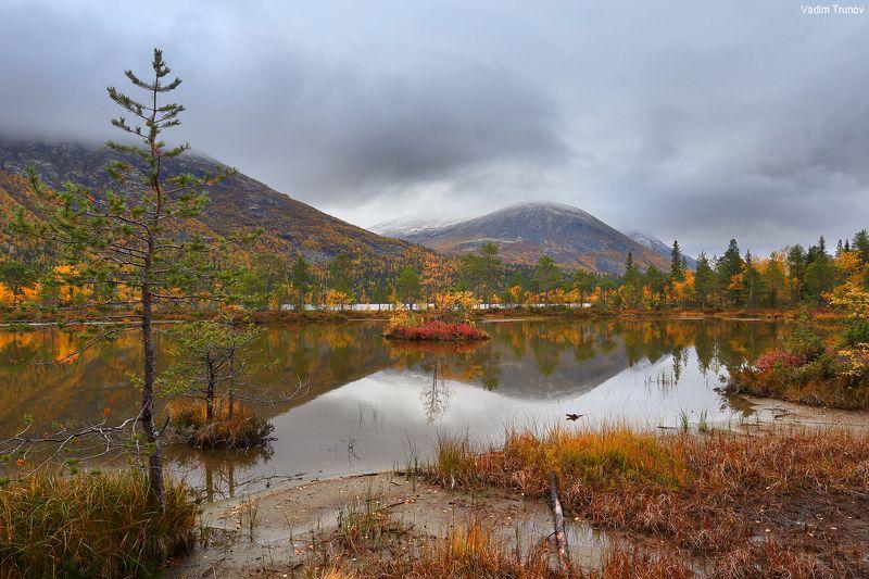 кольский, север, заполярье, хибины, озеро щучье Озеро Щучьеphoto preview