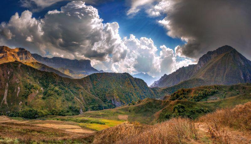 горы,кбр,природа,пейзаж В горах Кабардино-Балкарииphoto preview
